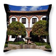 Patio Del Museo Cordobes De Bellas Throw Pillow
