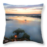 Patio With A View  Throw Pillow