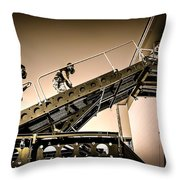 Patriot3 Elevated Tactics System Throw Pillow
