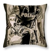 Patriot3 Second Floor Entry Throw Pillow