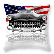 Patriotic Hudson 1952 Throw Pillow