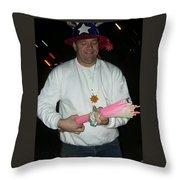 Patriotic Vendor Phoenix Zoo Phoenix Arizona 1999  Throw Pillow