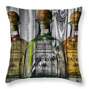 Patron Barn Door Throw Pillow