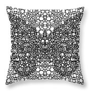 Pattern 35 - Intricate Exquisite Butterfly Pattern Art Prints Throw Pillow