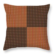 Pattern 9 Spots Throw Pillow