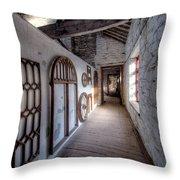 Pattern Loft Throw Pillow by Adrian Evans