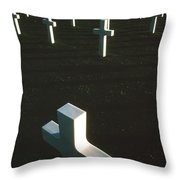 Pattern Of Modern Dying Throw Pillow