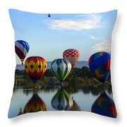 Pattern Of Six Throw Pillow
