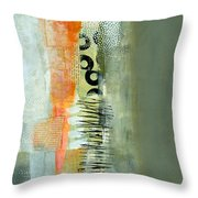 Pattern Study Nuetral 1 Throw Pillow