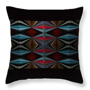Patterned Abstract 2 Throw Pillow