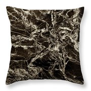 Patterns In Stone - 175 Throw Pillow