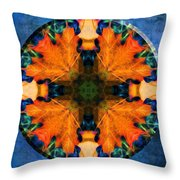 Patterns Of Autumn Throw Pillow