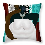 Patterns Of Love Throw Pillow