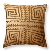 Patterns Of The Old Ones Throw Pillow