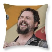 Patterson Hood Band Throw Pillow