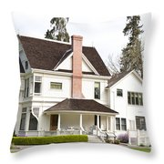 Patterson House Ardenwood Historic Farm Throw Pillow