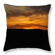 Patterson Sunset Throw Pillow