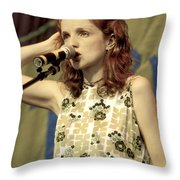 Patty Griffith Throw Pillow