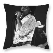 Paul And Boz 1977 Throw Pillow
