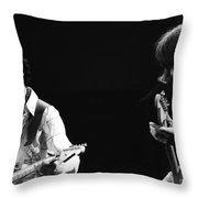 Paul And Mick Are Bad Company Throw Pillow
