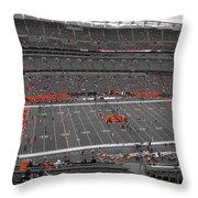 Paul Brown Stadium Throw Pillow