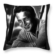 Paul Newman Throw Pillow