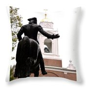 Paul Revere's Ride Throw Pillow