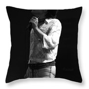 Paul Feeling The Good Vibes In Spokane 1977 Throw Pillow