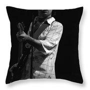 Paul Rocking In Spokane In 1977 Throw Pillow