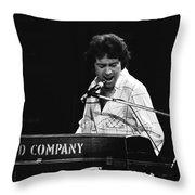 Bad Company Live In Spokane 1977 Throw Pillow