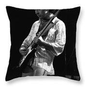 Paul On Guitar 1977 In Spokane Throw Pillow