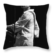 Paul On The Burnin Sky Tour 1977 Spokane Throw Pillow