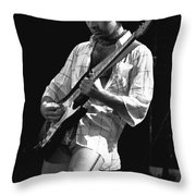 Paul Showing His Love To The Spokane Crowd In 1977 Throw Pillow