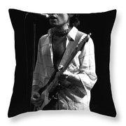 Bad Company's Vocalist Extraordinaire Throw Pillow