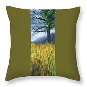 Pauls Tree Throw Pillow