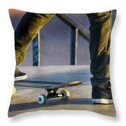 Paused Throw Pillow