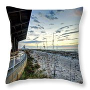 Pavilian And The December Sunrise Throw Pillow