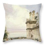 Pavilion De Flore, Tuileries, Paris Throw Pillow