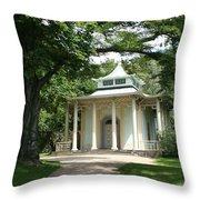Pavilion Park Pillnitz - Germany Throw Pillow