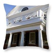 Pavillion Vi University Of Virginia Throw Pillow