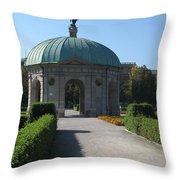 Pavilion Residence Garden - Munich Throw Pillow