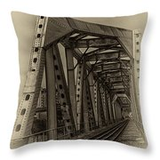 Paving The Way Forward Throw Pillow