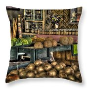 Pavlock Farms Throw Pillow