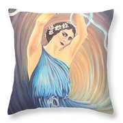 Pavlova Throw Pillow