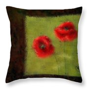 Pavot - 027023222-bl02 Throw Pillow