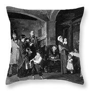 Pawn Shop, 1874 Throw Pillow