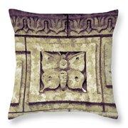 Pawnee Butterfly Frieze II Throw Pillow