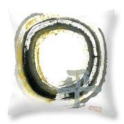 Pax - Zen Enso Throw Pillow