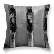 Pay Phones 2b Throw Pillow