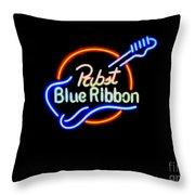 Pbr Guitar Throw Pillow